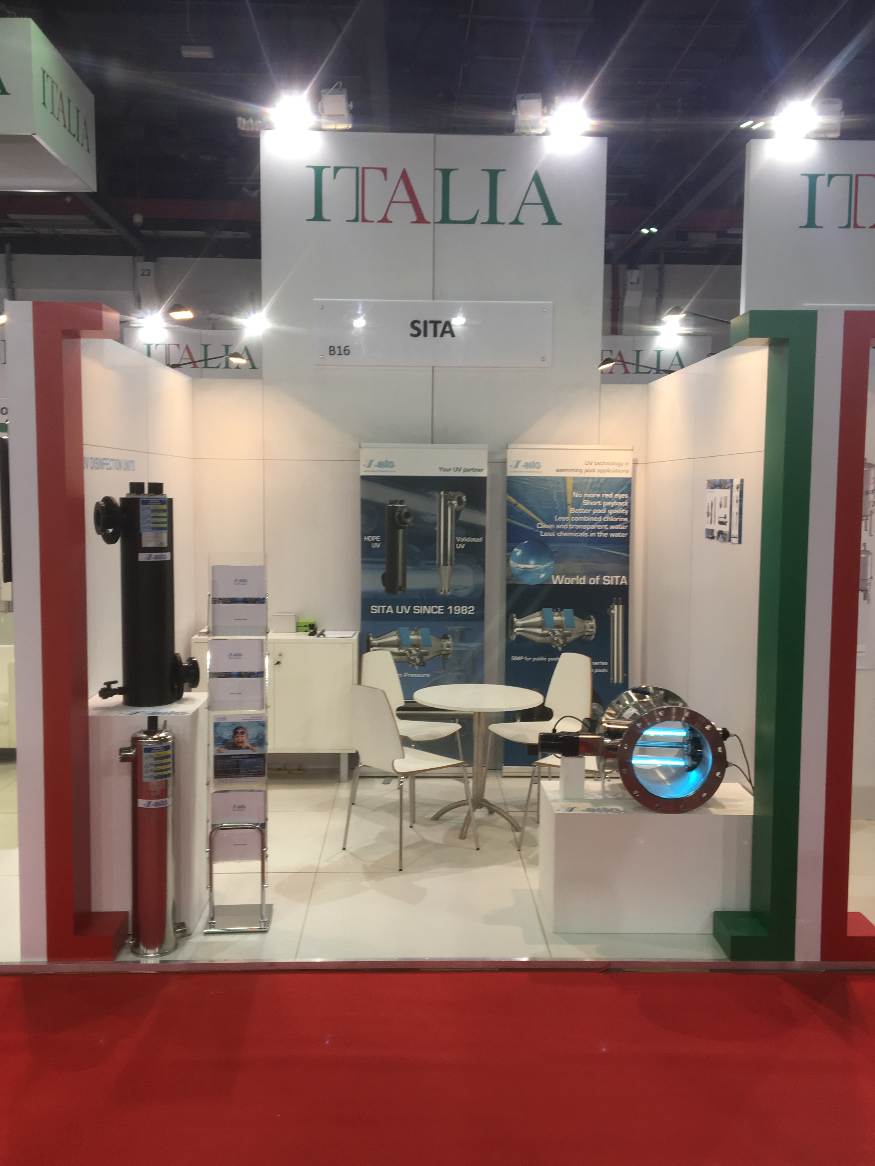 SITA @ WETEX 2016 in DUBAI