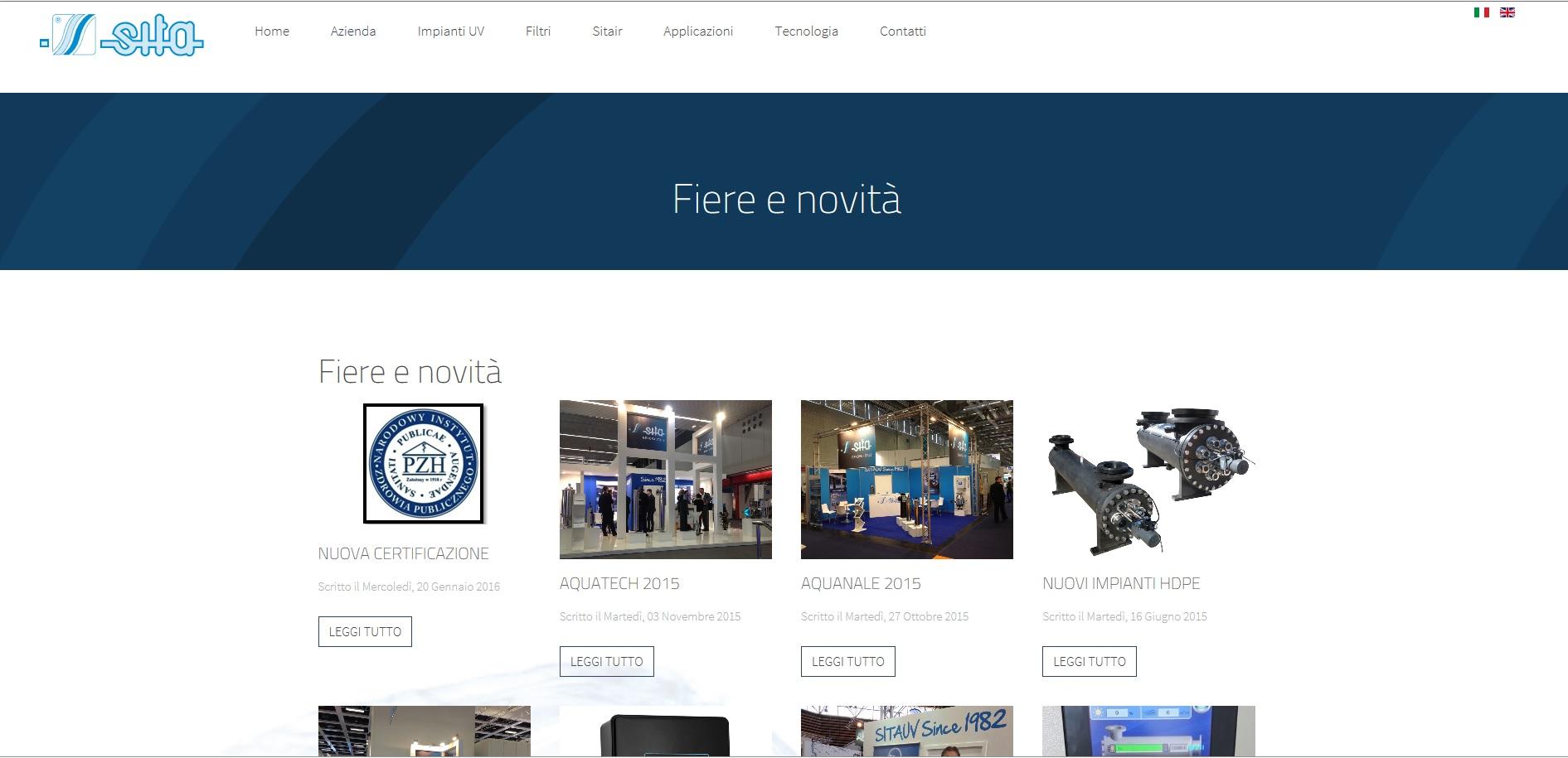 Nuovo sito web for Sito web di costruzione di case